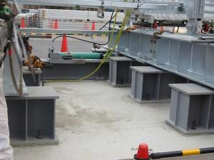 大型テント移送用油圧システム